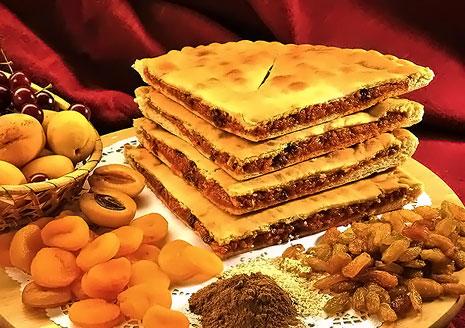 Все меню традиционных осетинских пирогов от пекарни Вкус Кавказа! Скидка 60%!