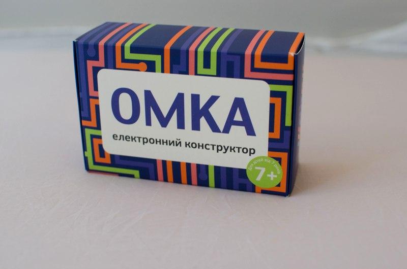 Эксперементируйте! Образовательный электронный конструктор Омка для детей от 7 лет!