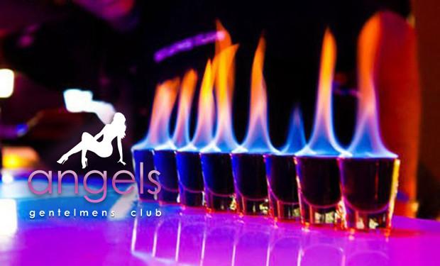 Вход, тэйбл дэнс, коктейль и подарок от клуба Gentlemens club Angels со скидкой до 80%!