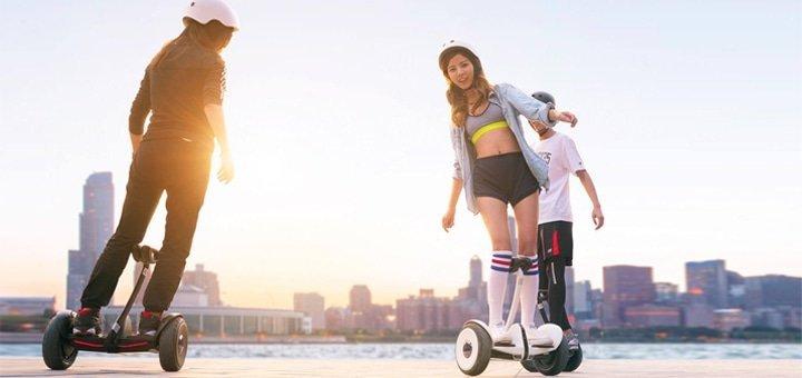 Прогулки на гироскутерах Ninebot Minipro со скидкой 50%!